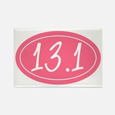 Pink 13.1 Rectangle Magnet