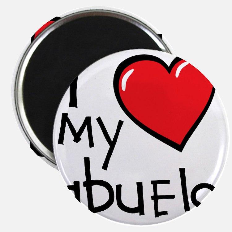 I Love My Abuelo Magnet