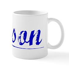 Kitson, Blue, Aged Mug