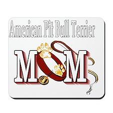 American Pit Bull Terrier Mom Mousepad