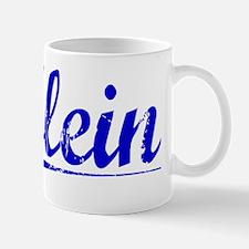 Klein, Blue, Aged Mug