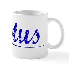 Justus, Blue, Aged Small Mug
