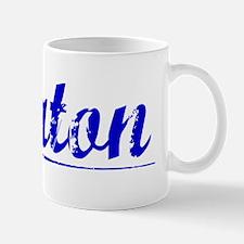 Keaton, Blue, Aged Mug