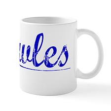 Knowles, Blue, Aged Mug