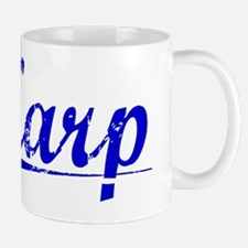 Karp, Blue, Aged Mug