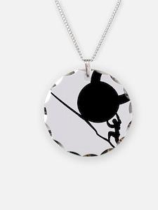 Sisyphus KB Tenacity Necklace Circle Charm