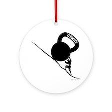 Sisyphus KB Tenacity Round Ornament