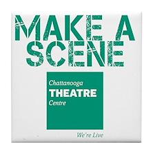 Make A Scene Tile Coaster