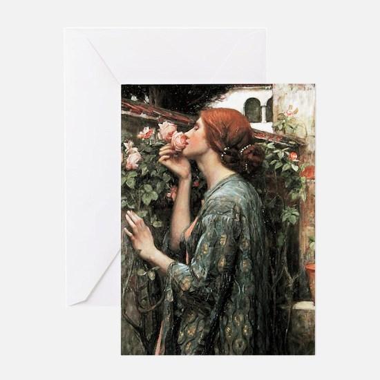 John William Waterhouse My Sweet Ros Greeting Card