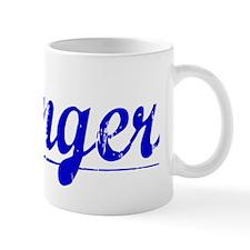 Klinger, Blue, Aged Mug