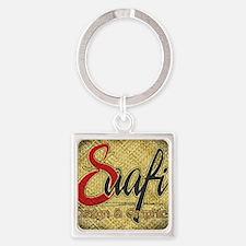 Saafi Design Logo Square Keychain