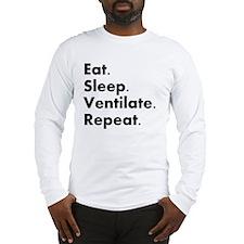 RT eat sleep VENTILATE Long Sleeve T-Shirt