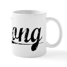 Tong, Vintage Mug