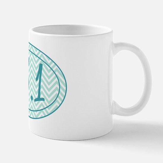 13.1 Blue Chevron Mug