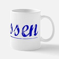 Klassen, Blue, Aged Mug