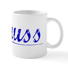 Knauss, Blue, Aged Small Mugs