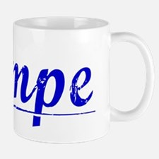 Lampe, Blue, Aged Mug