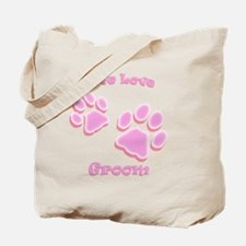 Live Love Groom Tote Bag