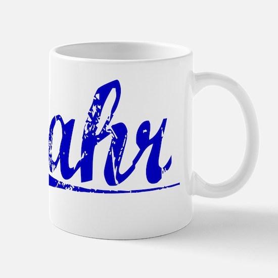 Lahr, Blue, Aged Mug