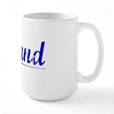 Leland, Blue, Aged Mug