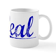Leal, Blue, Aged Mug
