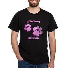 Live Love Groom T-Shirt