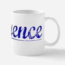 Laurence, Blue, Aged Mug