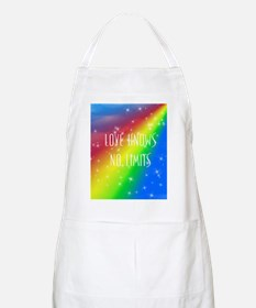 Love Knows No Limits Apron