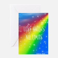 Love Knows No Limits Greeting Card