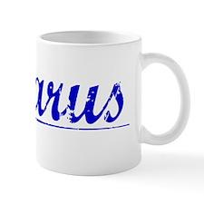 Lazarus, Blue, Aged Mug