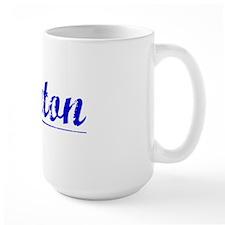 Layton, Blue, Aged Mug