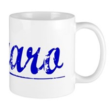Lazaro, Blue, Aged Mug