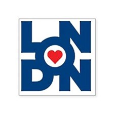 "London Square Sticker 3"" x 3"""