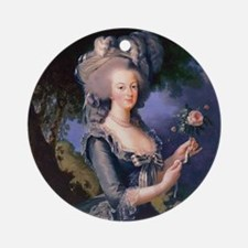 Elisabeth Louise Vigee-LeBrun Marie Round Ornament