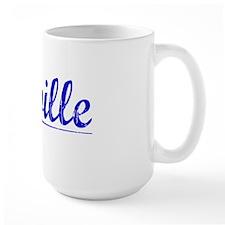 Linville, Blue, Aged Mug