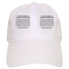 FROM THEB FOUNDER OF PLANNED PARENTHOOD...MUG Baseball Cap