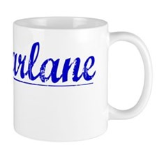 Macfarlane, Blue, Aged Small Mugs