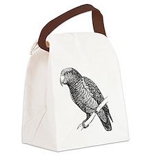 Amazon Parrot Bird T-Shirt Canvas Lunch Bag