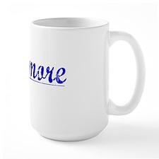 Livermore, Blue, Aged Mug