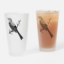 Scissor-tailed Flycatcher Bird T-Sh Drinking Glass