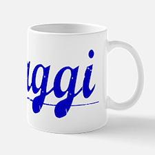 Maggi, Blue, Aged Mug