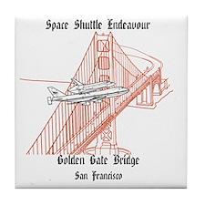 SF_12x12_Endeavour_GoldenGateBridge_B Tile Coaster