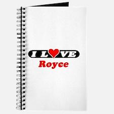 I Love Royce Journal