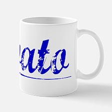 Lovato, Blue, Aged Mug