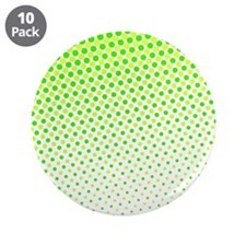 "Lime Green Dots 3.5"" Button (10 pack)"