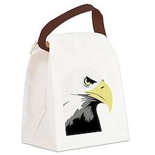 Bald Eagle Bird T-Shirt Canvas Lunch Bag