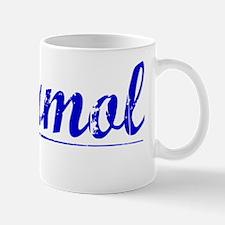 Marmol, Blue, Aged Mug
