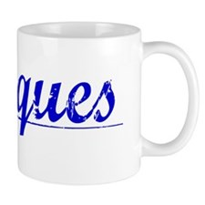 Marques, Blue, Aged Mug