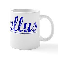 Marcellus, Blue, Aged Mug