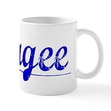 Magee, Blue, Aged Mug